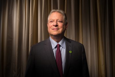 Former US Vice President Al Gore
