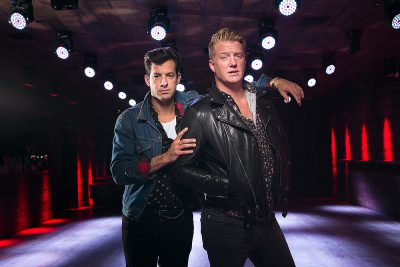 Musicians Mark Ronson and Josh Homme