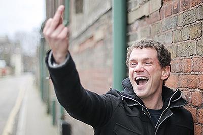 Playwright Anders Lustgarten